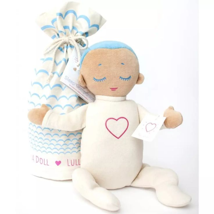 <p>The Lulla Doll imitates closeness of a caregiver at rest with its soothing sounds of real heartbeat and breathing and soft touch. Lulla's unique design is based on scientific research that shows how closeness improves sleep, wellbeing and safety. The a