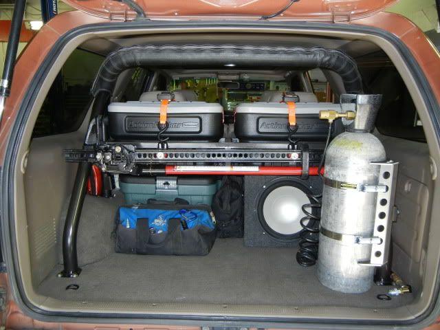 1st Gen 4runner Storage Mod Toyota Mods Pinterest