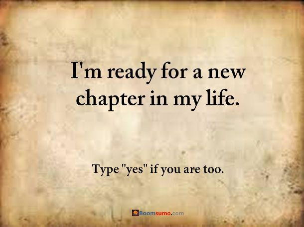 How To Move On And Starting A New Chapter In Life Quotes Quotes