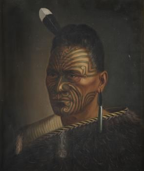 Portrait of Tawhiao - Collections Online - Museum of New Zealand Te Papa Tongarewa