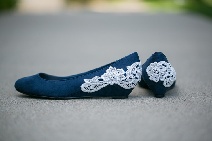 flat low blue ballet low wedges wedding idea wedge wedding shoes