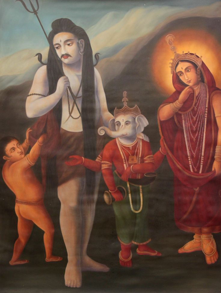 Lord Shiva Family