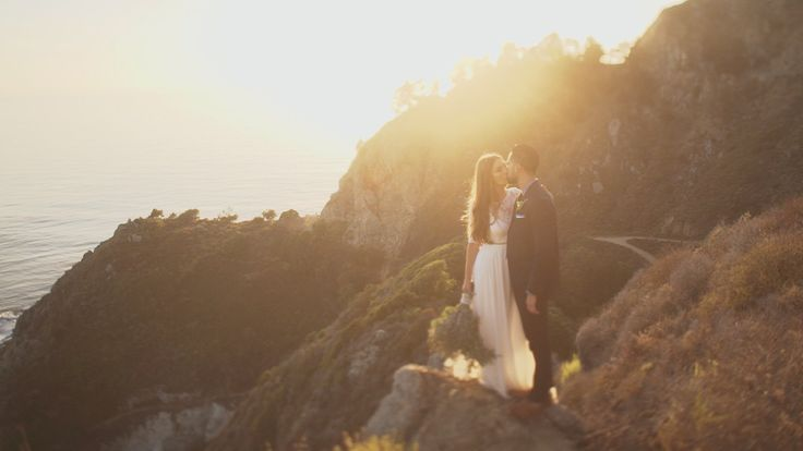 Mary & JP married in Big Sur