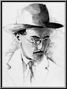 Autopsicografía    El poeta es un fingidor.  Finge tan completamente  Que hasta finge que es dolor  El dolor que de veras siente.