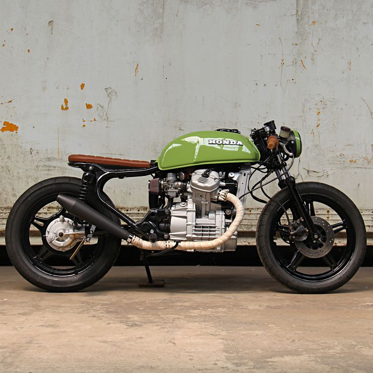 1978 Honda CX500 Cafe Racer by Ironwood Custom Motorcycles #caferacer #bratstyle