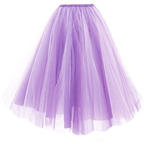 V28® Women 2 Colors Mid Tulle Tutu Ballet Ruffle Bridal Petticoat... ($17) ❤ liked on Polyvore featuring skirts, bottoms, tulle tutu, petticoat tutu, purple tulle skirt, tutu skirts and purple tutu skirt