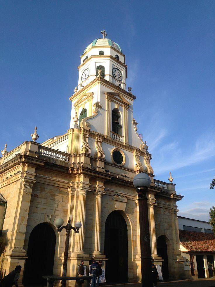 Colombia - Iglesia de Santa Lucia en Chia, Cundinamarca.