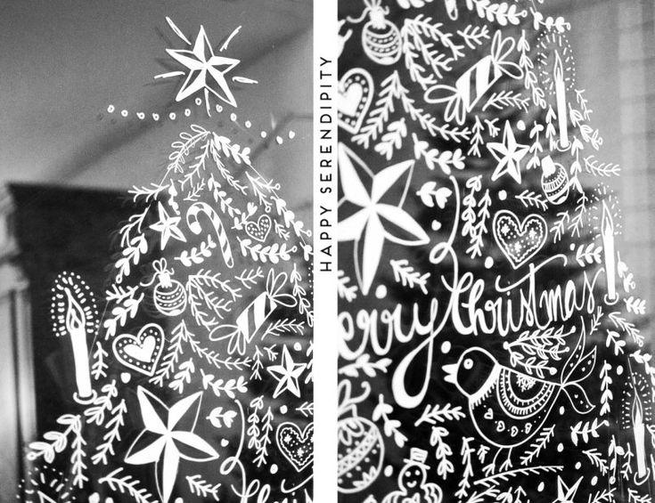 17 besten vorlagen kreidemaker bilder auf pinterest for Kreidemarker vorlagen weihnachten