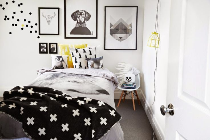 my scandinavian home: Black, white and pastel inspiration from Norsu