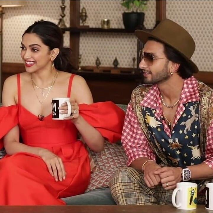 Deepika Padukone And Ranveer Singh S Adorable Pda During An Interview Is Melting Hearts Across Nation Ranveer Singh Deepika Padukone Deepika Ranveer