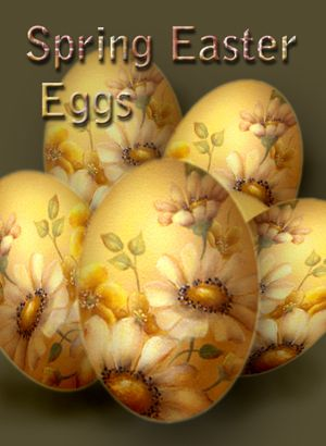 Art Apprentice Online Store - Spring Easter Eggs - Flower Painting - Acrylic Painting Pattern by Susan Abdella, MDA, $7.95 (http://store.artapprenticeonline.com/spring-easter-eggs-flower-painting-acrylic-painting-pattern-by-susan-abdella-mda/)