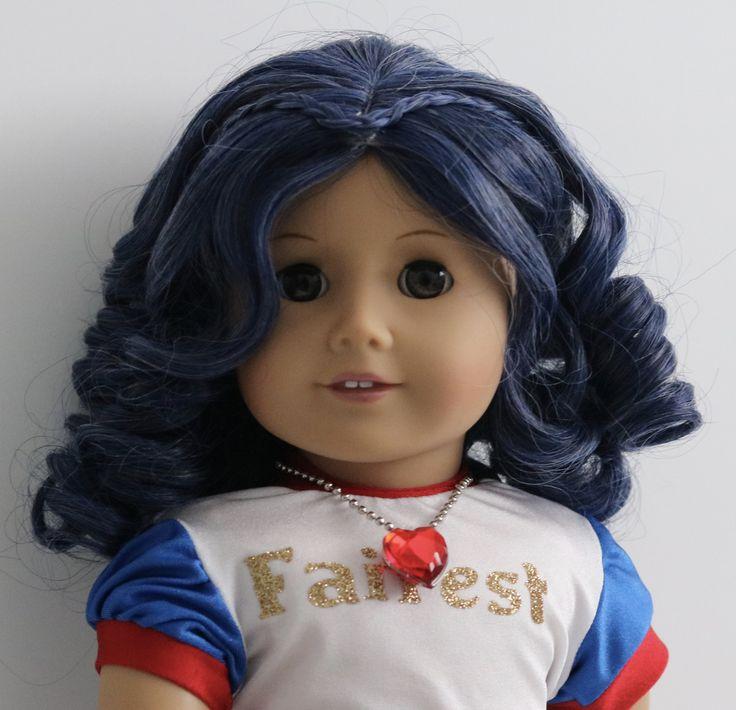 Custom Disney Descendants Evie American Girl doll by Zazou Dolls