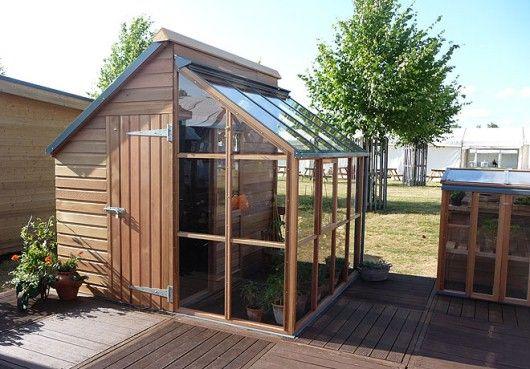 Grow and stoe växthus från Vansta trädgård