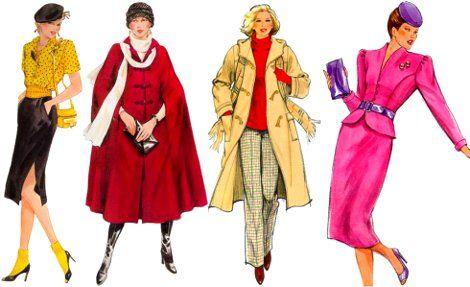 Мода 80-х годов в одежде (фото) | Модные иллюстрации ...