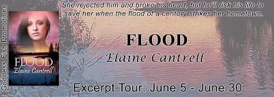 #newblogpost - Come check out Flood by @ElaineCantrell - Book Tour - Exclusive Excerpt - #giveaway on the blog today!! - @GoddessFish  Fabulous and Brunette: Flood by Elaine Cantrell - Book Tour - Exclusive E...