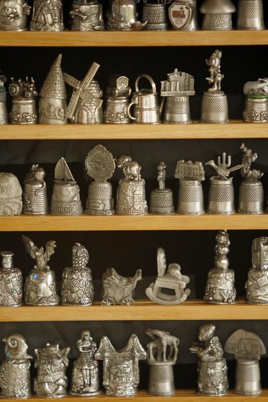 Antiques & Collectibles | Antiques and Collectibles: Fit for a Finger - Thimble Collection ...