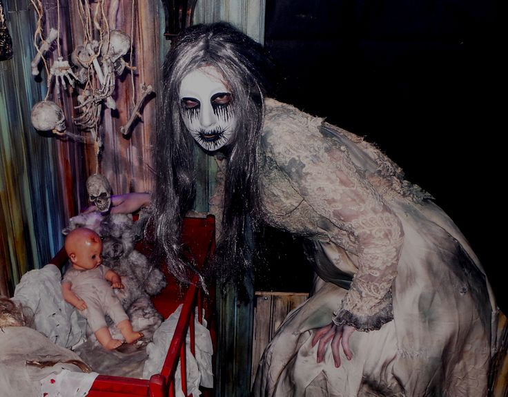 Nursery Ghost Lady Rutherford Manor Haunt Haunted House