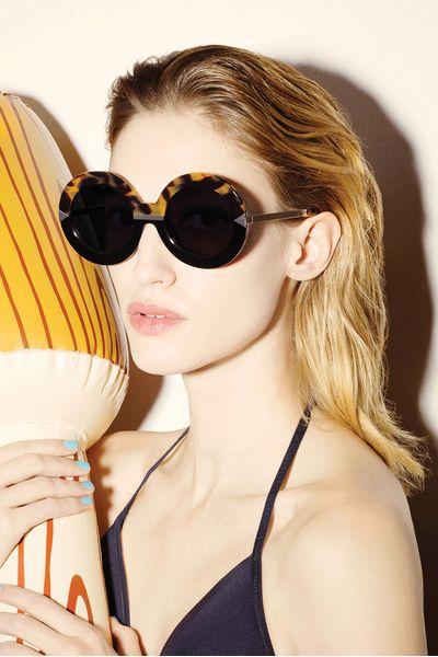 Hollywood Pool Crazy Tort - All Eyewear Collections | Karen Walker