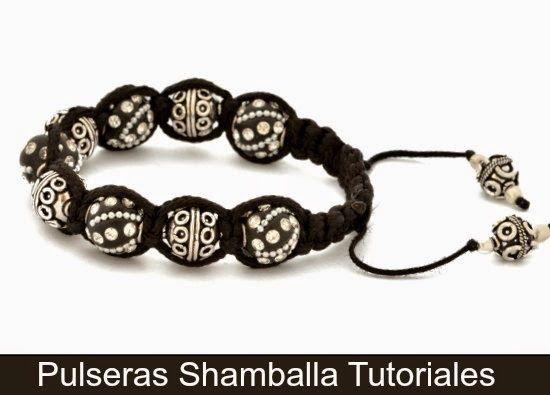 Como hacer una Pulsera Shamballa <sub>6+1 Tutorial</sub> - enrHedando