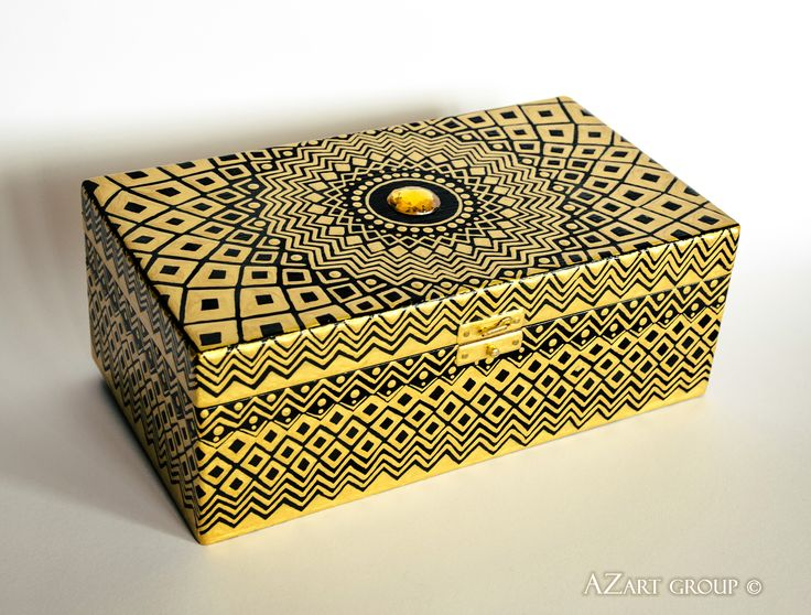 A Thousand and One Nights wooden box  Material: wood, acrylic Size: length - 30 cm width - 20 cm height - 9 cm Designer: Andrey Zinchuk