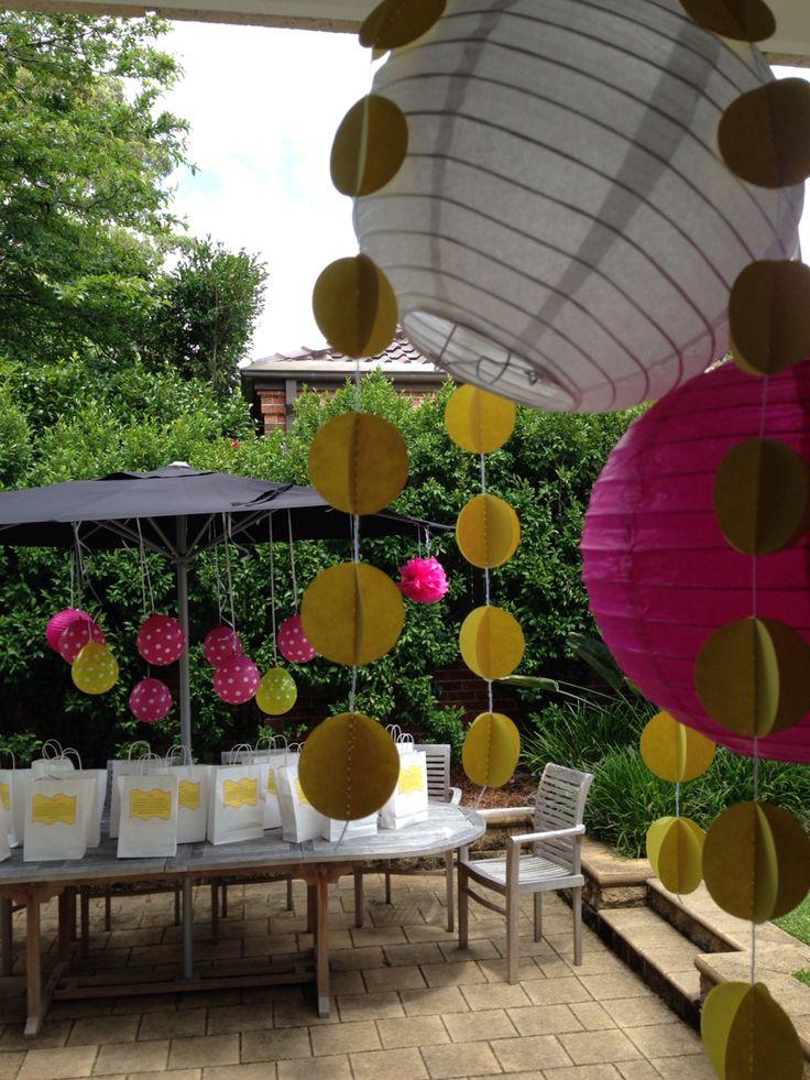 Pixie party decorations