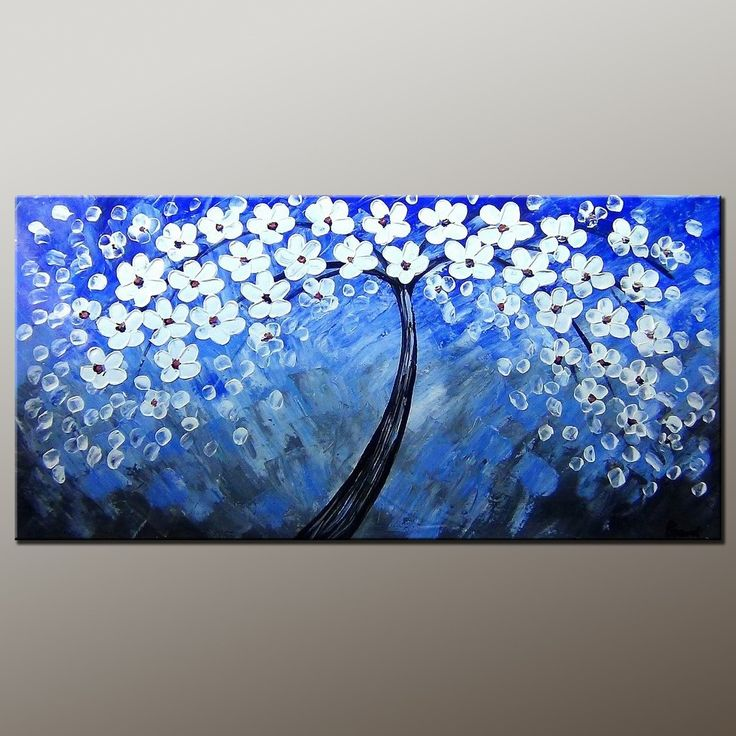247 best Bedroom Decor, oil painting, abstract painting, art for ...