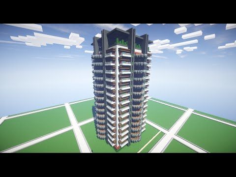 How To Build An Apartment Complex In Minecraft Part 1 You