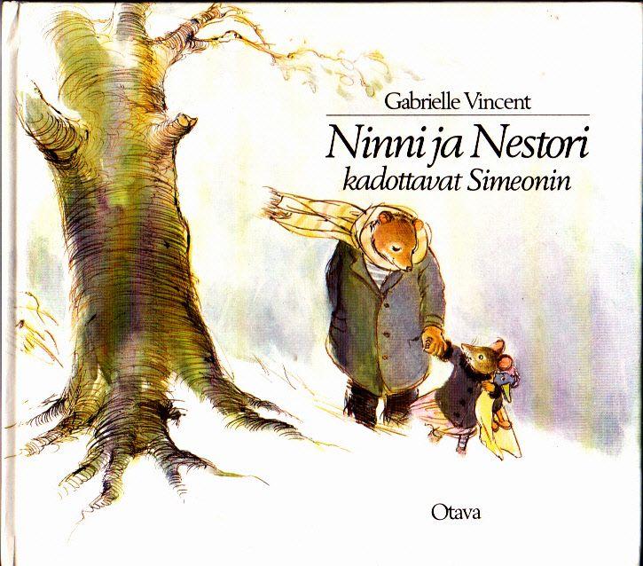 Ninni ja Nestori kadottavat Simeonin. Voi sitä iloa ja riemua, kun tämän löysin uudelleen!