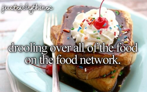 Drooling over all of the food on the Food Network.Buckets Lists, Absolute Random, Man Food, Girly Things, French Toast, Foodies Inspiration, Bananas Split, The Food Network, Split French