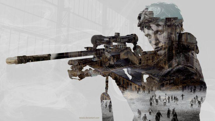 10K (Z Nation) True Detective Style Wallpaper by Nesaia on DeviantArt