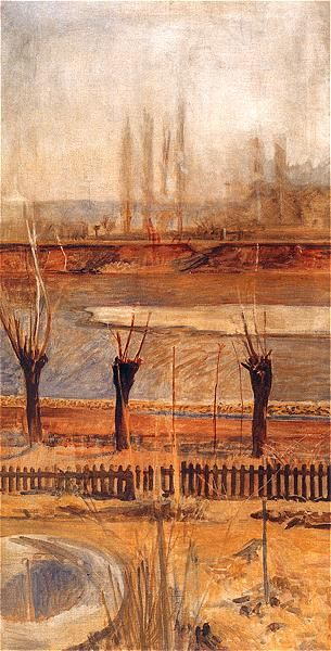 Jacek Malczewski - Landscape of Vistula