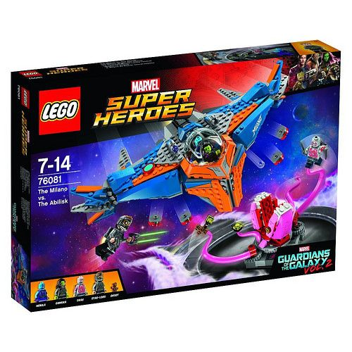 LEGO Marvel Super Heroes Guardians of the Galaxy Vol. 2 The Milano vs. The Abilisk (76081)
