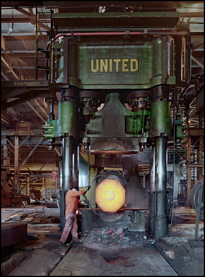 2500 ton forging press --   Ellwood City, Pennsylvania