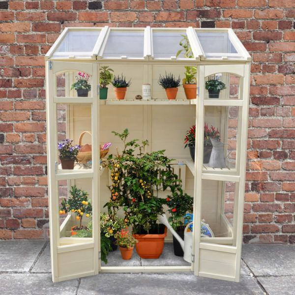 Hartwood 5' x 2' Victorian Tall Wall Greenhouse - http://www.sheds.co.uk/hartwood-5-x-2-victorian-tall-wall-greenhouse.html