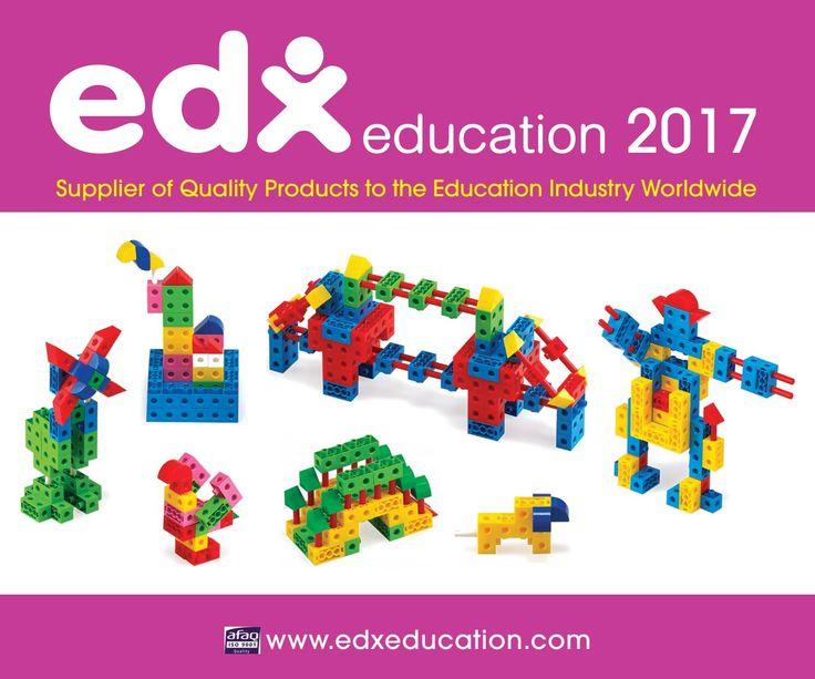 Edx Education 2017 Catalogue can be viewed online #edxeducation #learnbyplay #handson #mathmanipulatives #learningisfun #earlyyears