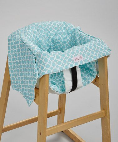 Take a look at this Robin's Egg Swing & Restaurant High Chair Cover by Smitten Baby on #zulily today!