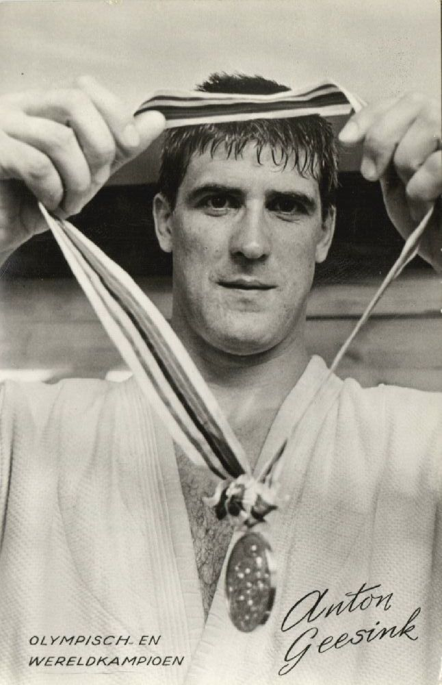 Olympic & World Champion Dutch 10th-dan Judoka ANTON GEESINK Tokyo 1964 Judo (4)