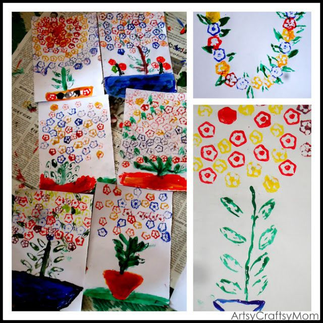 volunteering with kids okra french beans printing - Printing Pictures For Kids