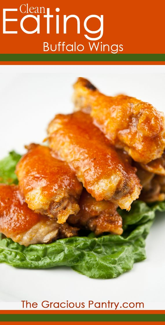 Clean Eating Buffalo Wings - great option for tailgating that won't ruin your eating habits!