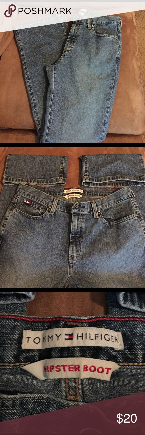 Women's Tommy Hilfiger jeans🌸 Hipster boot cut in excellent condition Tommy Hilfiger Jeans Boot Cut