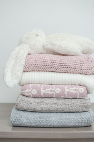 Effi, La Millou and Jollein baby blankets