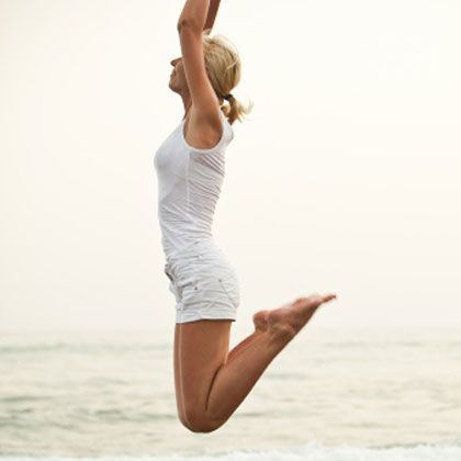 Plyometric Workout: Jump Away the Jiggle