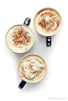Coconut Milk Hot Chocolate Recipe | http://shewearsmanyhats.com