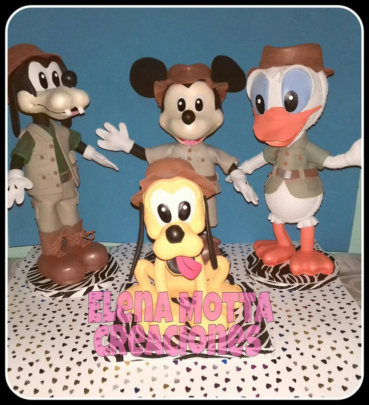 Fofuchas de mickey y sus amigos