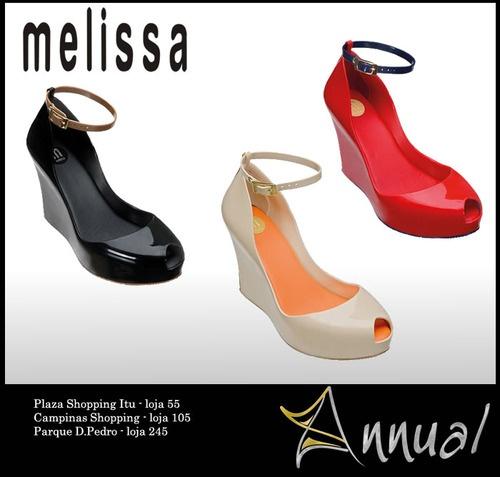 Confira na Loja Annual em Campinas (Shopping D. Pedro) as novidades da nova coleção dos sapatos Melissa.