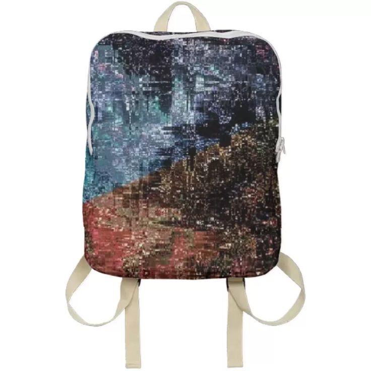 Shop Newave Backpack by Kamo Vamo | Print All Over Me