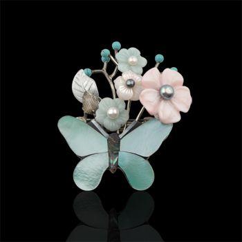 머리꽂이(자개류) - 고품격 수공예 주얼리 민휘아트주얼리 MINWHEE ART JEWELRY