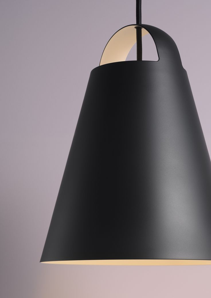 Above Pendant - Black. Launched: February 2017. Manufacturer: Louis Poulsen.
