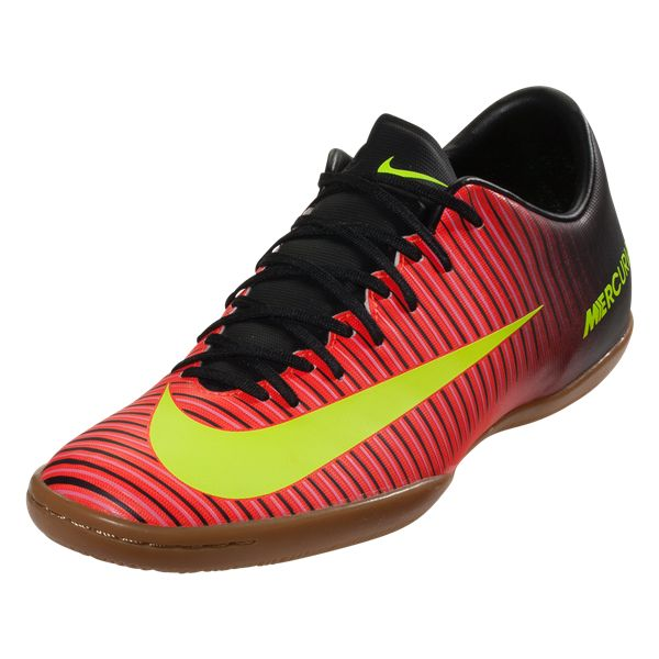 Buy Nike Mercurial Victory VI IC Total Crimson/Black/Pink Blast/Volt on SOCCER.COM. Best Price Guaranteed. Shop for all your soccer equipment and apparel needs.