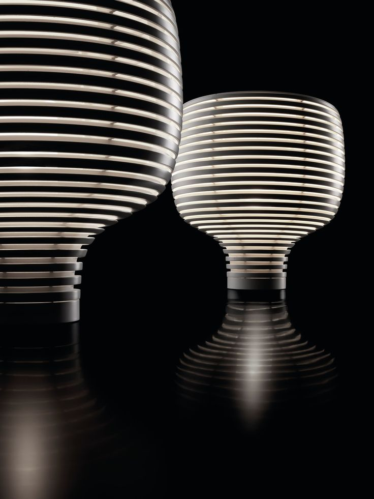 """behive"" white LED table lamp | lighting . Beleuchtung . luminaires | Design: Foscarini |"